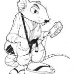BJJ Mat Rat