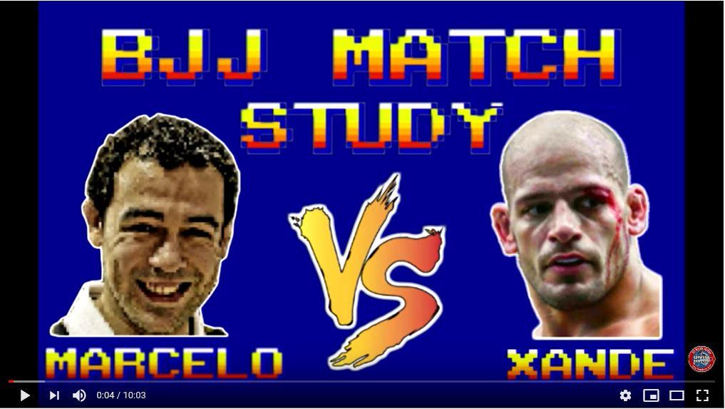 BJJ Match Study: Marcelo Garcia vs Xande Ribeiro